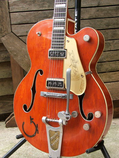 1956 Gretsch 6120 Chet Atkins Hollow Body